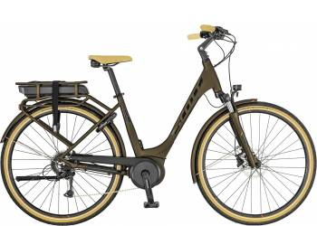 Велосипед SCOTT Sub Active eRIDE Unisex rack t. (2019)
