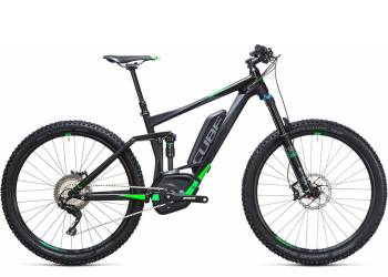 Велосипед Cube STEREO HYBRID 140 HPA Race 500 27,5 (2017)