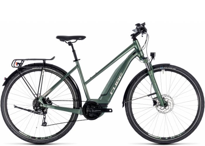 Велосипед Cube Touring Hybrid One 400 Lady (2018) 1